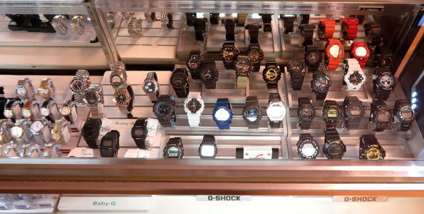Casio G-Shock Baby-G watches